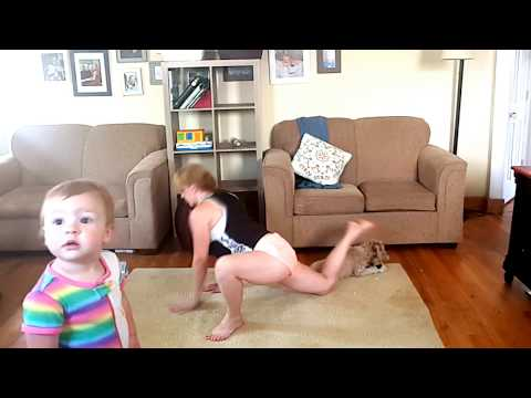 Mom's Workout - Lower body and some yoga