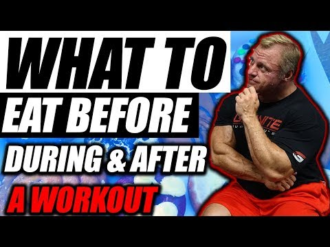 What To Eat | Before | During | After | A Workout