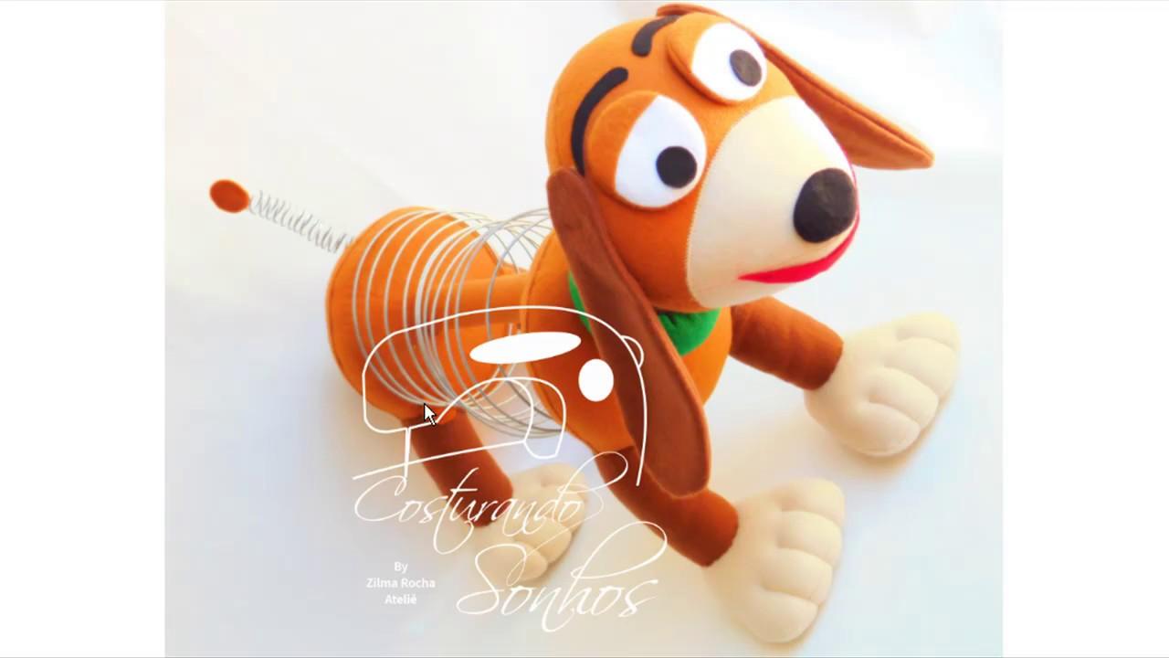 Passo a passo personagem cachorrinho toy story zilma rocha youtube - Cochon de toy story ...