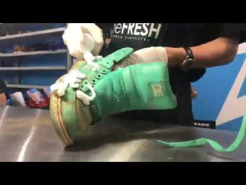 Кастом старых DC. Реставрация и ремонт обуви