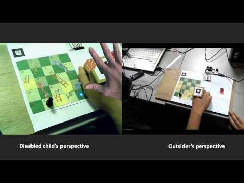 Augmented Reality Board Game for Children with Cerebral Palsy - ARATLab