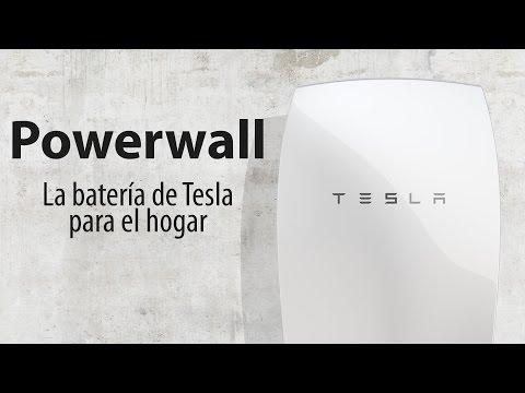 Batería de Tesla para el hogar Powerwall: Ventajas y Usos
