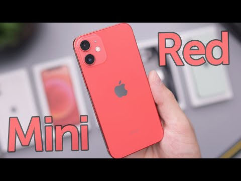 Red iPhone 12 Mini Unboxing & First Impressions!
