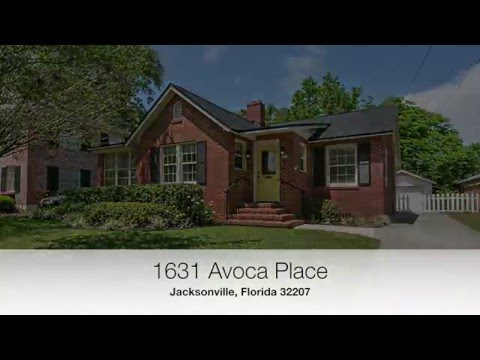 Jacksonville Real Estate: San Marco Homes - 1631 Avoca Place