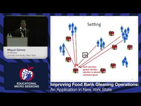 Improving Food Bank Gleaning Operations: An Application in New York State