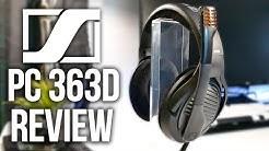 Sennheiser PC 363D Gaming Headset Review