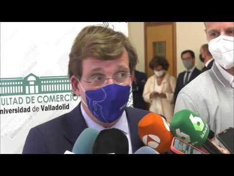 """Almeida: """"Los ciudadanos valorarán, cuando toque, la gestión que está haciendo Mañueco"""""""