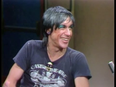 Iggy Pop on Late Night, December 8, 1982