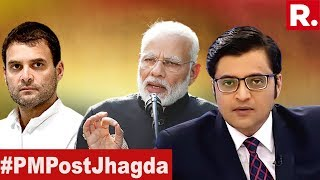 6 Days To Go, 6 Aspirants For Being The Prime Minister | The Debate With Arnab Goswami