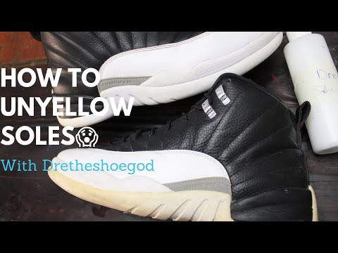 How To Unyellow Soles, MOST ASKED Questions/ DRETHESHOEGOD
