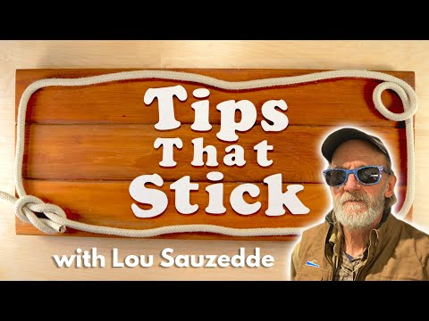 Tips That Stick: Spreading Thickened Epoxy Resin with Lou Sauzedde