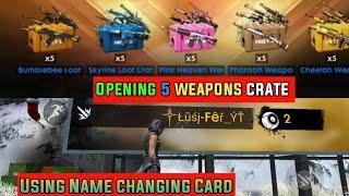 ll GERENA FREEFIRE l| Comment créer votre propre Élégant, nom +ouverture 5 arme crée l
