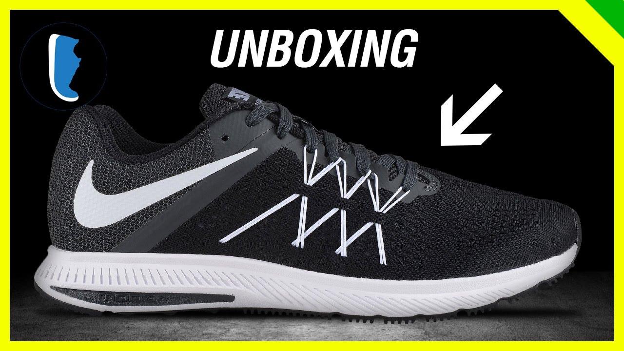 816e7b3e9aaa3 Tênis Barato para Iniciantes - Nike Air Zoom Winflo 3 - YouTube