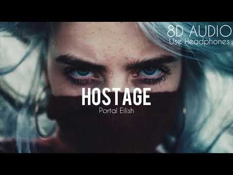 Billie Eilish - Hostage (8D AUDIO)
