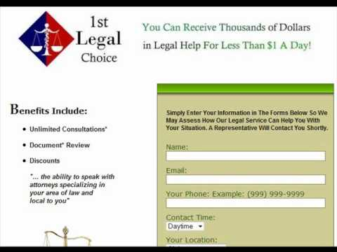"""Affordable Legal Help """"Find A Lawyer"""""""