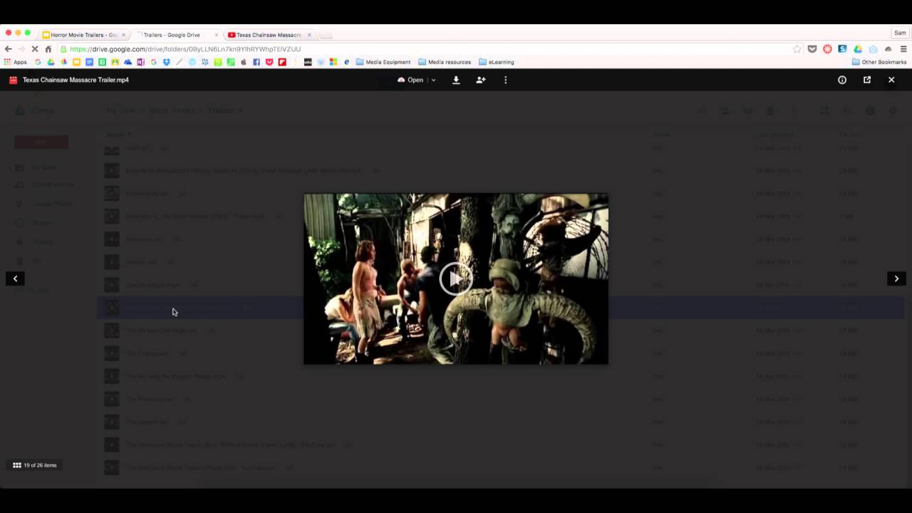 Inserting Video into Google Slides