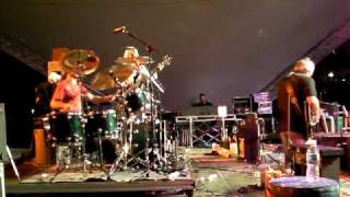 Joe Vitale Jr.'s big drum ending with OHIO Lock 3 Akron Ohio 5/28/10