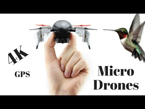 Smallest Mini Nano Quadcopter Drones HD 4K Camera 2017