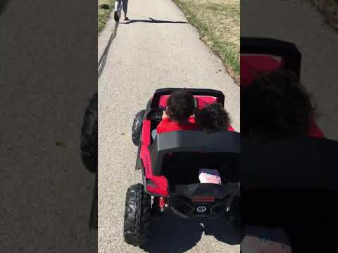 Testing Out New Power Wheel