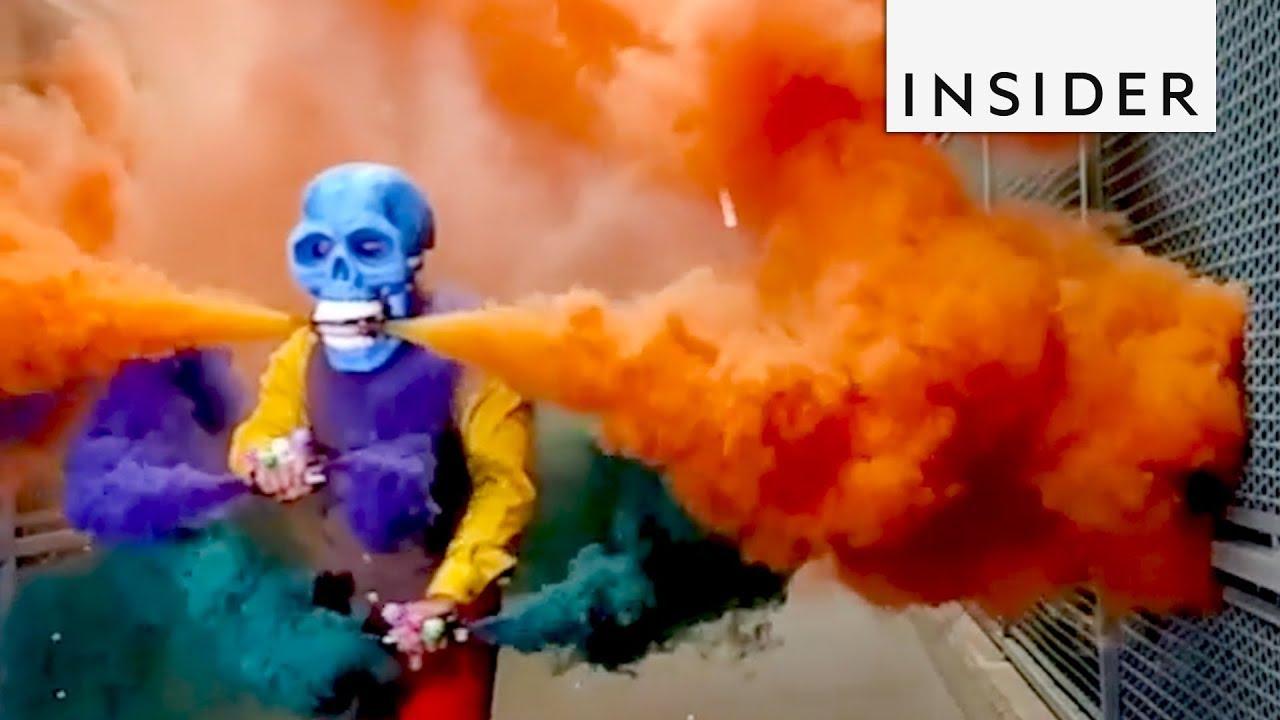 Meet LAs Skeleton of Color YouTube