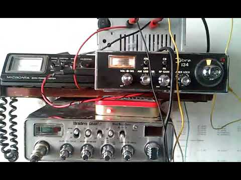 FRN Internet Link on CB radio Channel 1 Leon Mexico with recycled computer