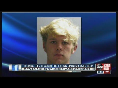 Jacksonville teen accused of killing grandma in fight over beer