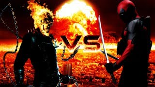 Deadpool vs Ghost Rider//Enemigas Batallas de Rap//Cori Rap