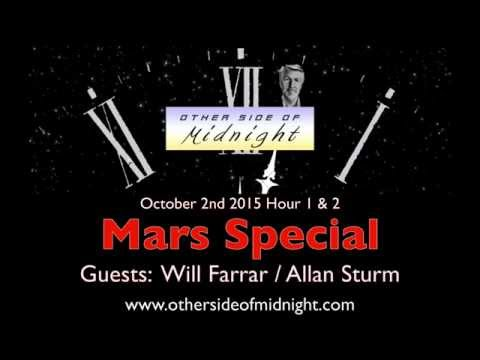 Mars Water & Anomalies Special On Richard C. Hoaglands Radio Show The Other Side Of Midnight