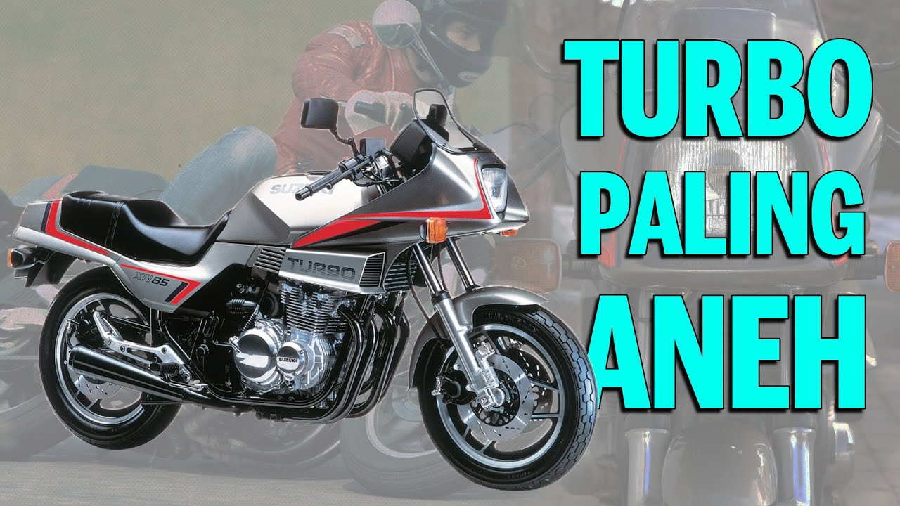 Era MOTOR TURBO Jepang: SUZUKI XN85 TURBO | History Lesson