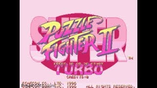 PSX Longplay [384] Super Puzzle Fighter II Turbo