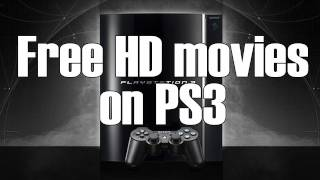 How to download FREE HD movies on PS3 - [HD]