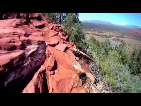 Sedona Arizona Doe Mountain Hiking Trail HD