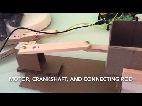 Creating Waves with a Gear Motor