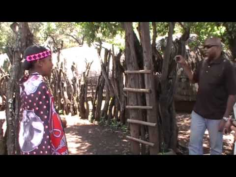 Lesedi  Cultural Village tour part I
