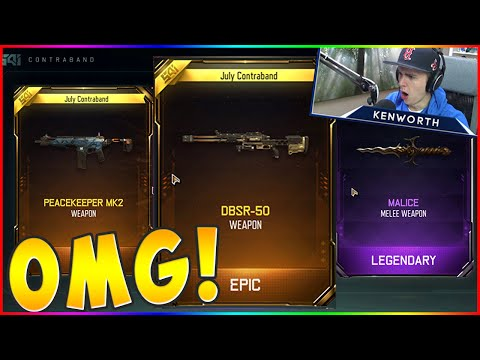 MY BEST SUPPLY DROP LUCK EVER! Black Ops 3 (DBSR50, PEACEKEE