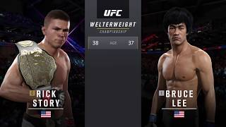 EA SPORTS™ UFC® 2 - Career Mode - Bruce Lee vs Rick Story Welterweight Title