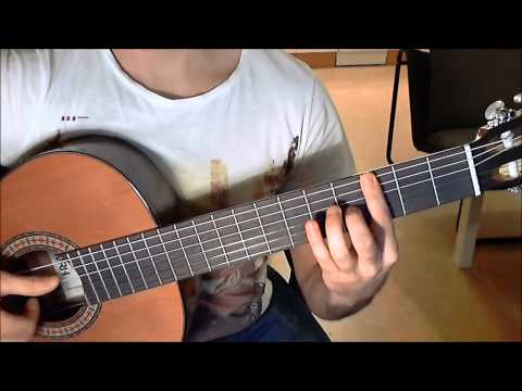 Tutorial: Song of Storms - Ocarina of Time on Guitar (with tabs)