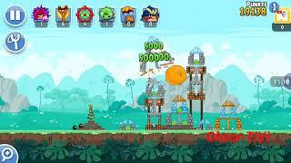 Obzor TiVi: Прохождение уровней Angry Birds Friends от 21 февраля 2019.