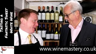 Tasting a Sweet White Wine from the Greek Island of Santorini (Episode 56 Part 2)