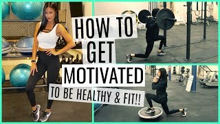 Baixar HOW TO GET FIT & HEALTHY NOW!! NO EXCUSES! TIPS & TRICKS