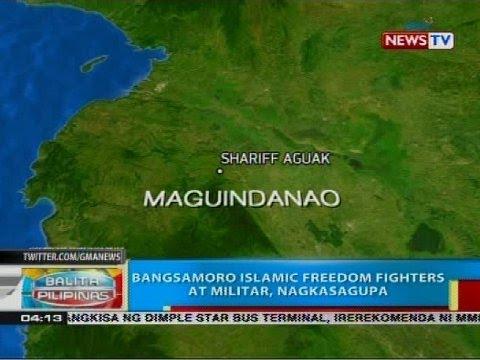 BP: Bangsamoro Islamic Freedom Fighters at militar, nagkasagupa