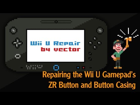 Nintendo Wii u Repair - ZR Button