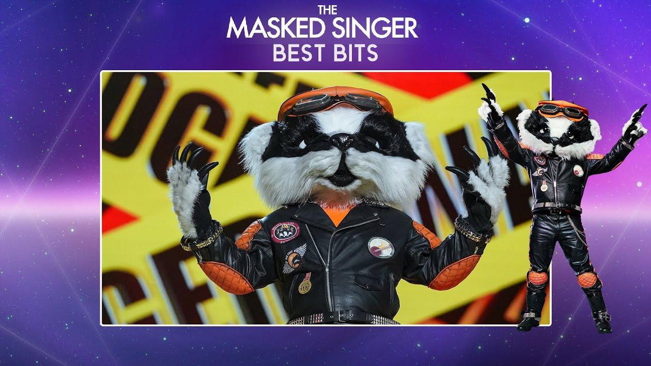 Badger's Best Bits! 🦡| The Masked Singer UK | Series 2 Runner-Up