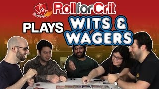 Place your bets! | Wits & Wagers Party | Roll For Crit Playback