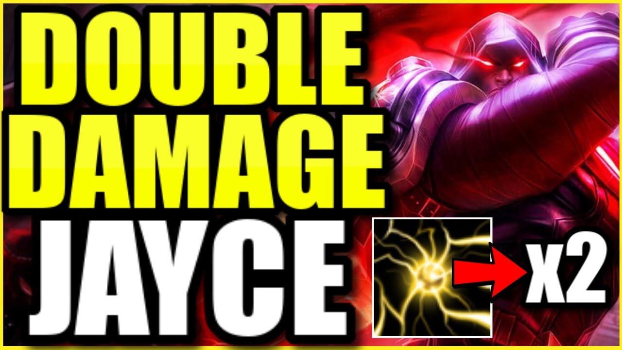 I did more than DOUBLE everyone else's damage as Jayce with these mechanics... 👀