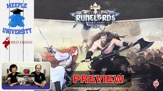 The Runelords Board Game - A Kickstarter Preview. By Stella and Tarrant (Meeple University)