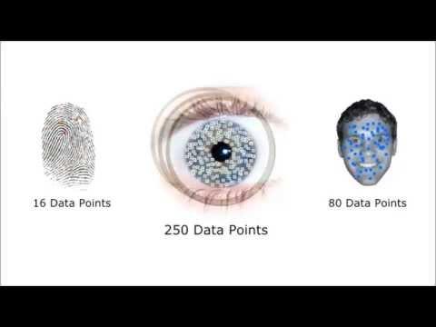 Биометрия по радужной оболочке глаза