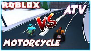 ROBLOX JAILBREAK ATV VS MOTORCYCLE! [NUEVO]