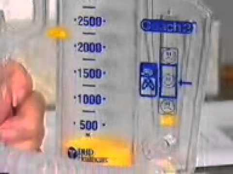 Coach 2 Incentive Spirometry Patient Education Video Youtube