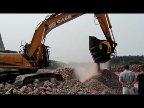 Crushing and screening in China